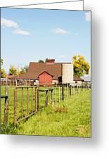 Cherryvale Barn Boulder Greeting Card