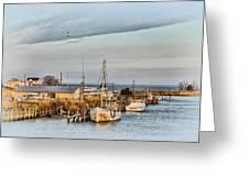 Chesapeake Fishing Boats Greeting Card