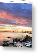 Chesapeake Mornings  Greeting Card by JC Findley