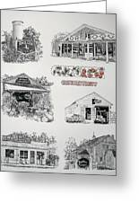 Cheshire Landmarks Greeting Card