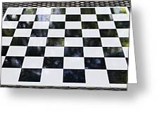 Chess In The Park Greeting Card