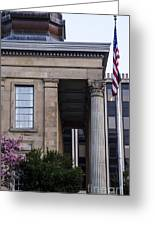 Chester County Court House-side View Greeting Card