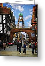 Chester Eastgate Clock Greeting Card