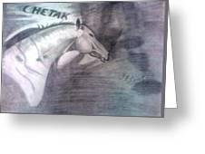 Chetak Greeting Card