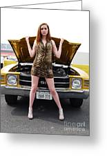 Chevelle Chick Greeting Card