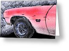 Chevelle Ss 356 Greeting Card