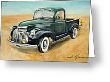 Chevrolet Art Deco Truck Greeting Card