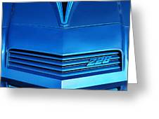 Chevrolet Camaro Z28 Greeting Card