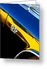 Chevrolet Chevelle Ss 396 Side Emblem Greeting Card