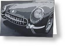 Chevrolet Corvette 1954 Greeting Card