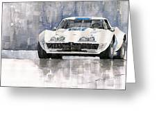 Chevrolet Corvette C3 Greeting Card