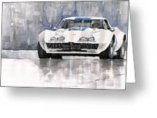 Chevrolet Corvette C3 Greeting Card