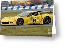 Chevrolet Corvette C6 Race Car Greeting Card