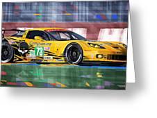 Chevrolet Corvette C6r Gte Pro Le Mans 24 2012 Greeting Card