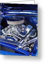Chevrolet Hotrod Engine Greeting Card