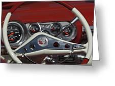 Chevrolet Impala Steering Wheel Greeting Card