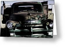 Chevrolet Truck Greeting Card