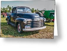 Chevy 1100 Greeting Card