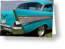 Chevy 1957 Bel Air Greeting Card