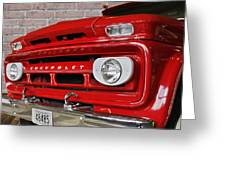 Chevy Beaumont Fire Museum Tx Greeting Card