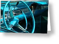 Chevy Bel Air Interior  II Greeting Card