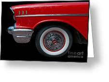 Chevy Bel Air - Sf Greeting Card