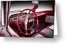 Chevy Biscayne Greeting Card