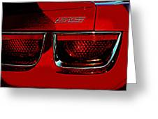 Chevy Camaro Greeting Card