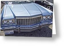 Chevy Caprice  Greeting Card