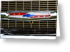 Chevy Emblem Greeting Card