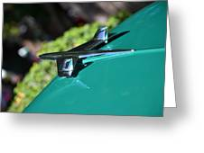 Chevy Hood Ornament Greeting Card