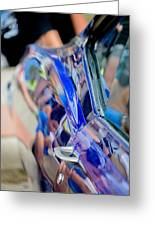 Chevy In Blue Greeting Card