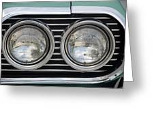 Chevy Lights Greeting Card