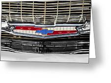 Chevy Nation 1957 Bel Air Greeting Card