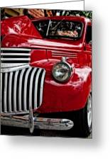 Chevy Truck - 2 Greeting Card