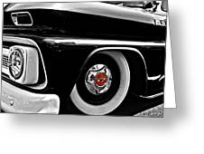 Chevy Truckin Greeting Card