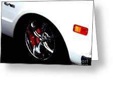 Chevy Wheel Greeting Card