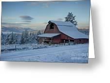 Chewelah Barn Greeting Card