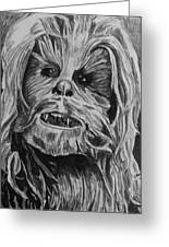 Chewie Greeting Card