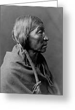 Cheyenne Indian Woman Circa 1910 Greeting Card