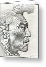 Cheyenne Medicine Man Greeting Card