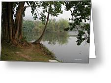 Chiang Mai University Lake Greeting Card
