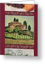 Chianti And Friends Collage 1 Greeting Card by Debbie DeWitt