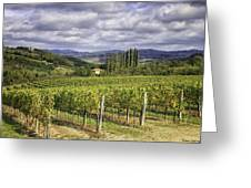 Chianti Country Greeting Card