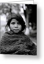 Chiapas Girl Greeting Card