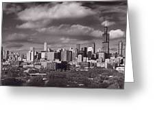 Chicago Afternoon  Greeting Card