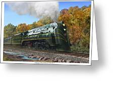 Chicago And North Western Class E-4 Greeting Card