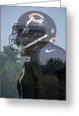 Chicago Bears Bourbonnais Il Summer Home Greeting Card