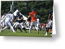 Chicago Bears G Matt Slauson Training Camp 2014 02 Greeting Card