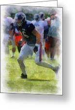 Chicago Bears Te Zach Miller Training Camp 2014 Pa 01 Greeting Card